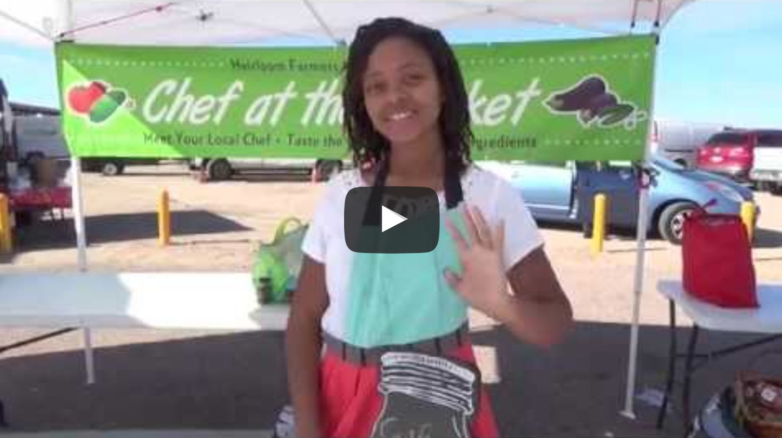 The Teen Vegan - Featured Chef At The Farmers Market | VeganFlix