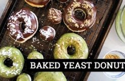 How to Make Vegan Donuts [BAKED YEAST DONUTS]   Mary