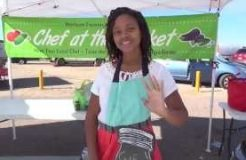 The Teen Vegan - Featured Chef At The Farmers Market