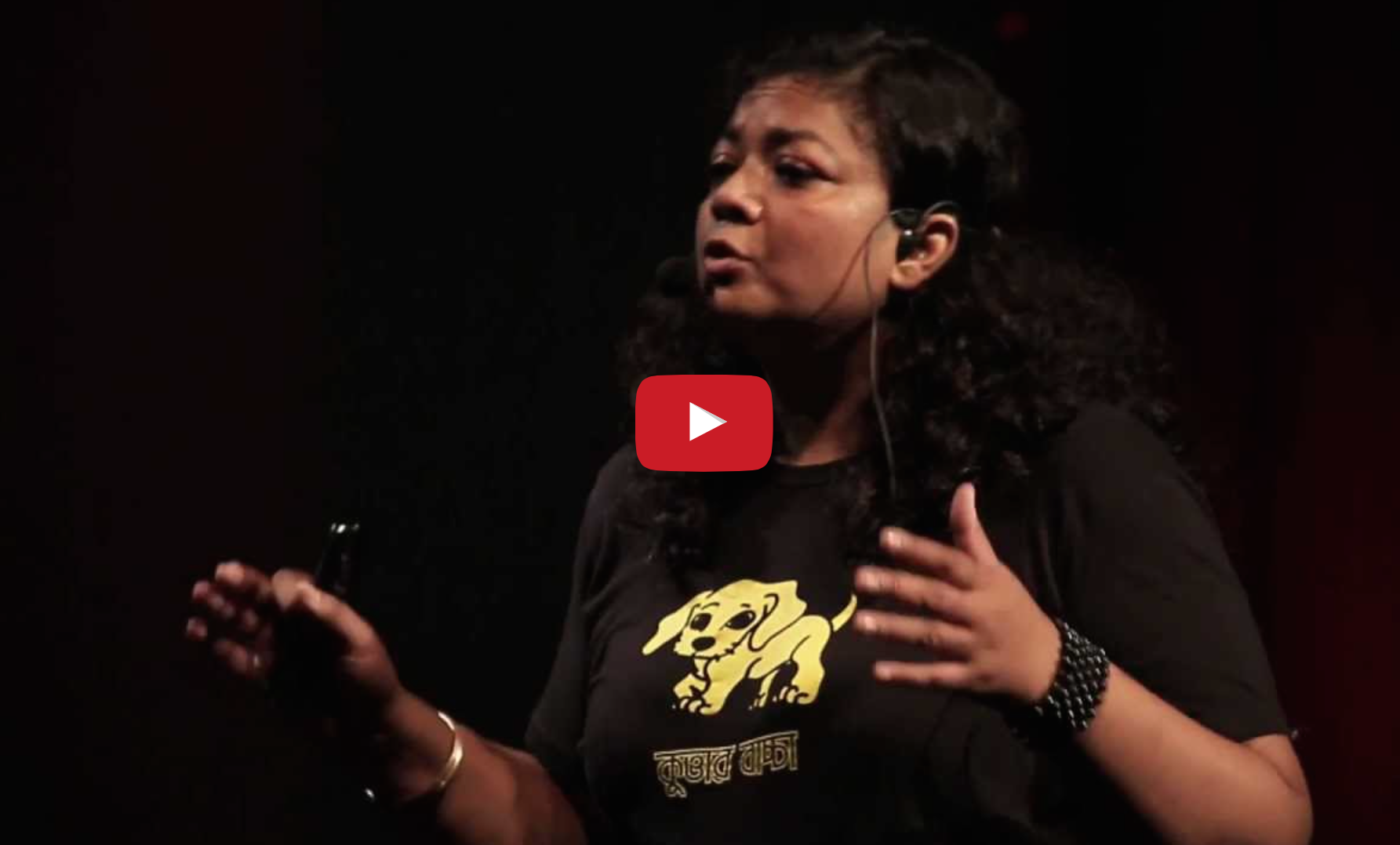 Why animal-rights is not a luxury: Rubaiya Ahmad at TEDxDhaka_VeganFlix