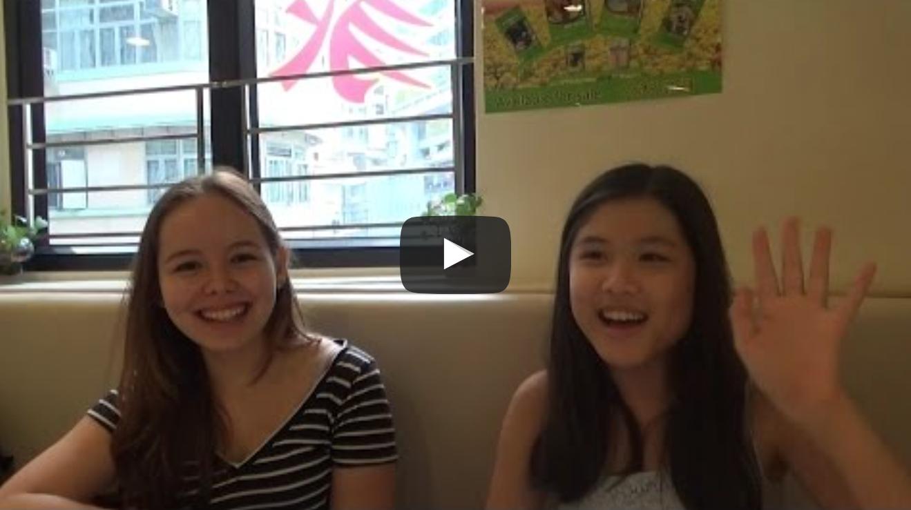 Vegan Teenagers Nicole and Danielle in Hong Kong|VeganFlix