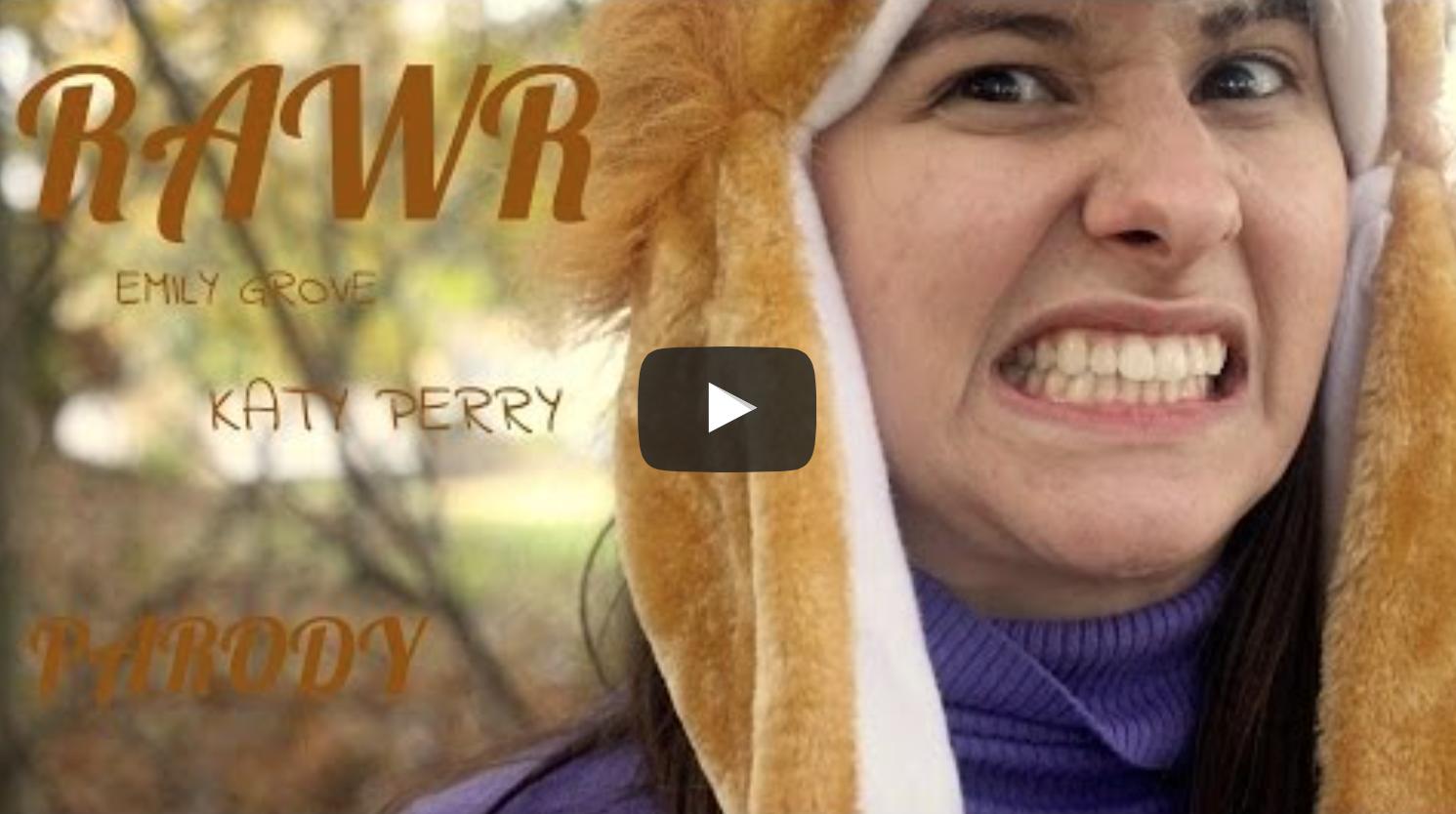 RAWR (ROAR Katy Perry Parody) VeganFlix