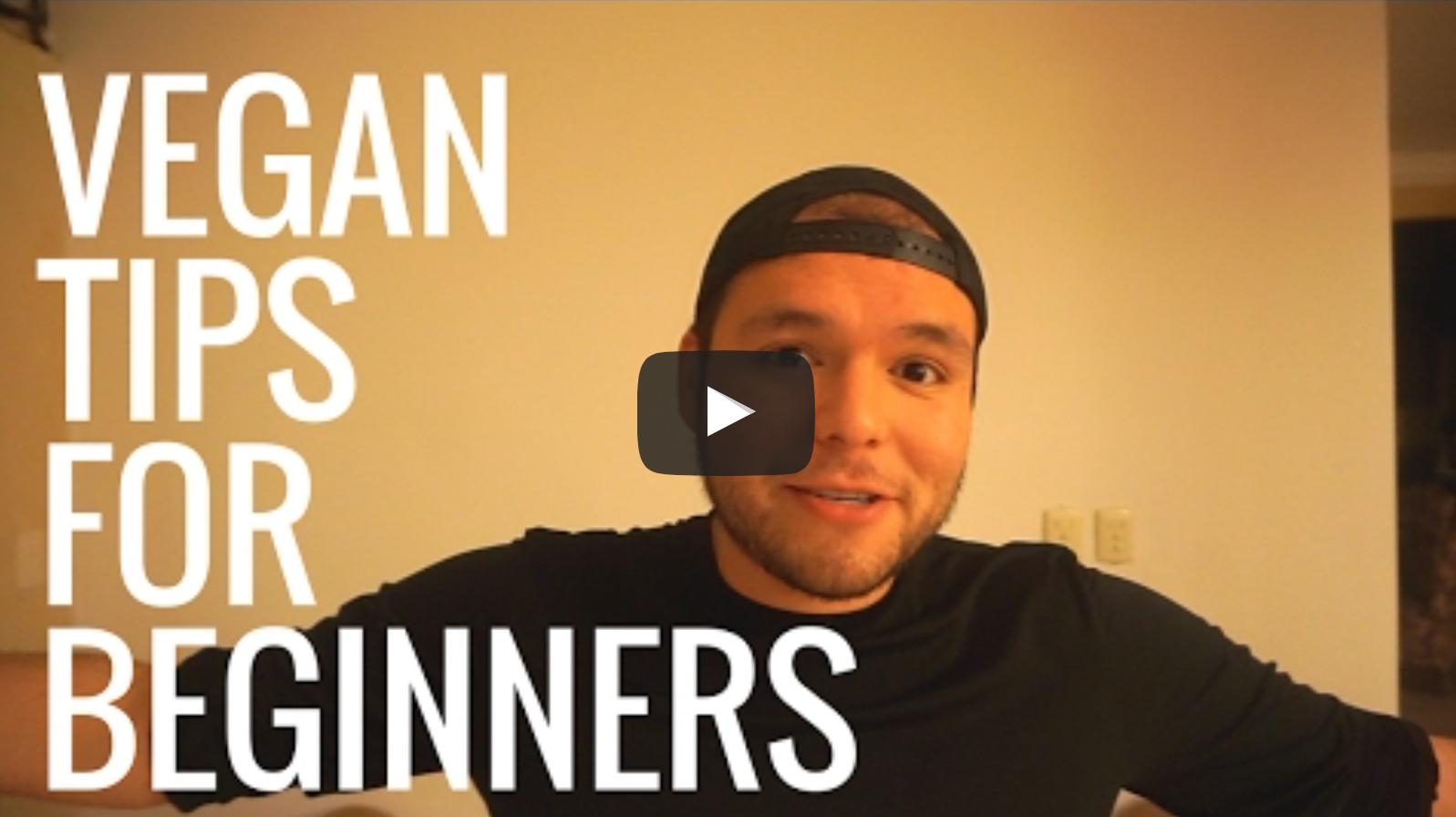 MY 8 TIPS FOR VEGAN BEGINNERS | Neto Vlog 4 | VeganFlix
