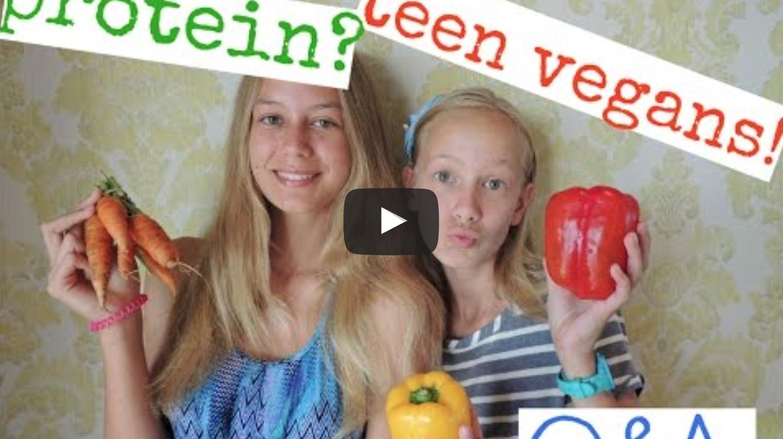 Q&A Protein, Our Vegan Stories | Vegan Sister Series |VeganFlix