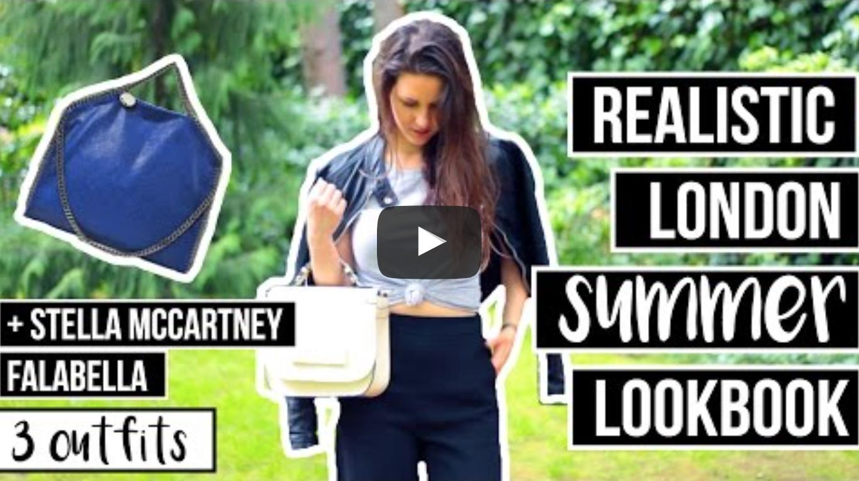 Realistic London Summer Lookbook - Vegan + Bloopers | VeganFlix