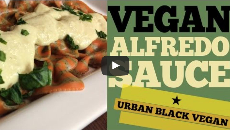 VEGAN ALFREDO SAUCE | VeganFlix