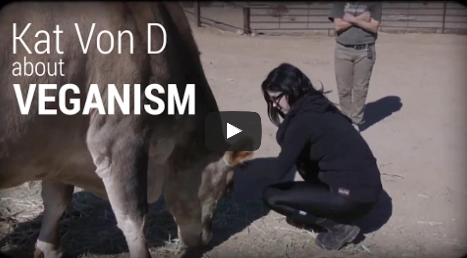 Kat Von D about Veganism   VeganFlix