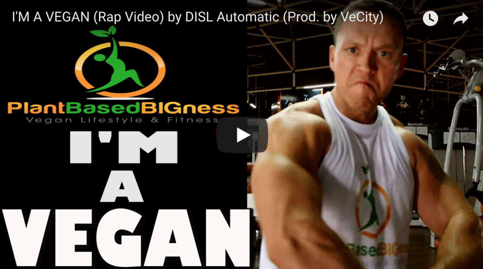 I'M A VEGAN (Rap Video) by DISL Automatic (Prod. by VeCity) | VeganFlix