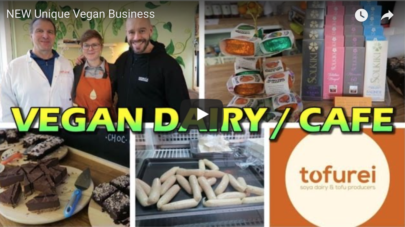 NEW Unique Vegan Business | VeganFlix