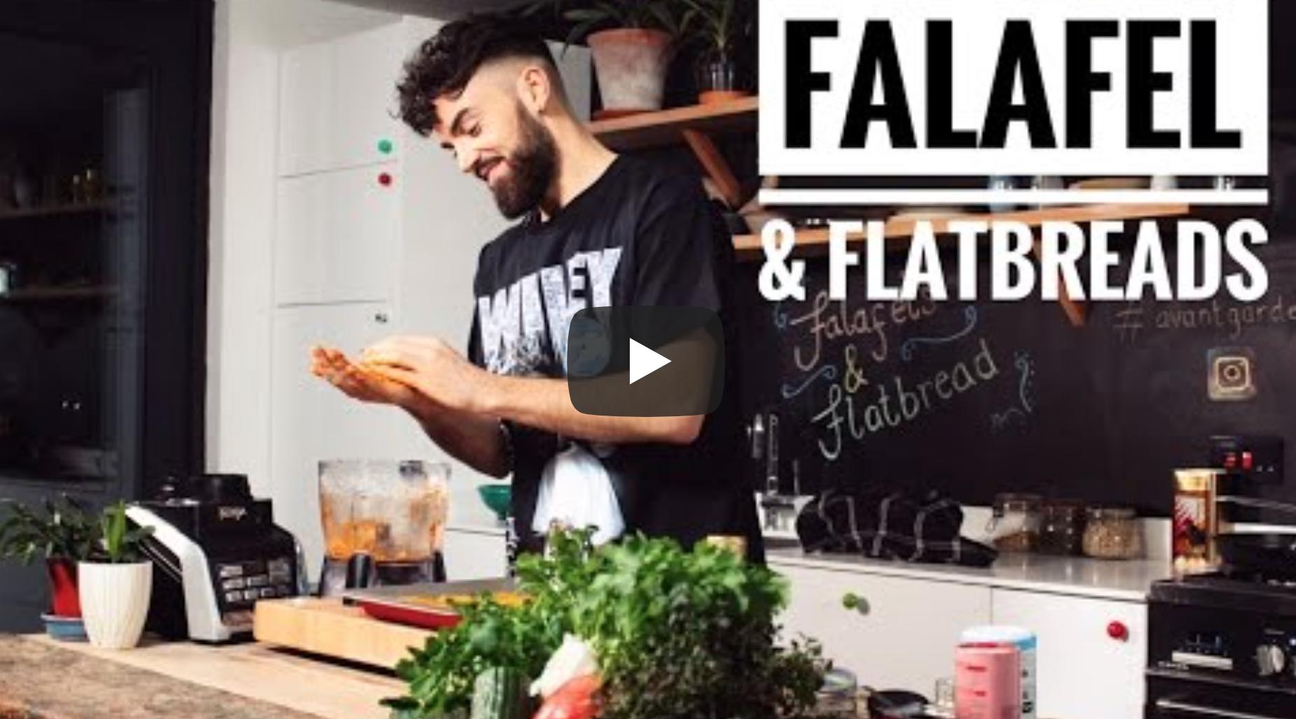 FALAFEL & FLATBREADS | Avant-Garde Vegan | VeganFlix