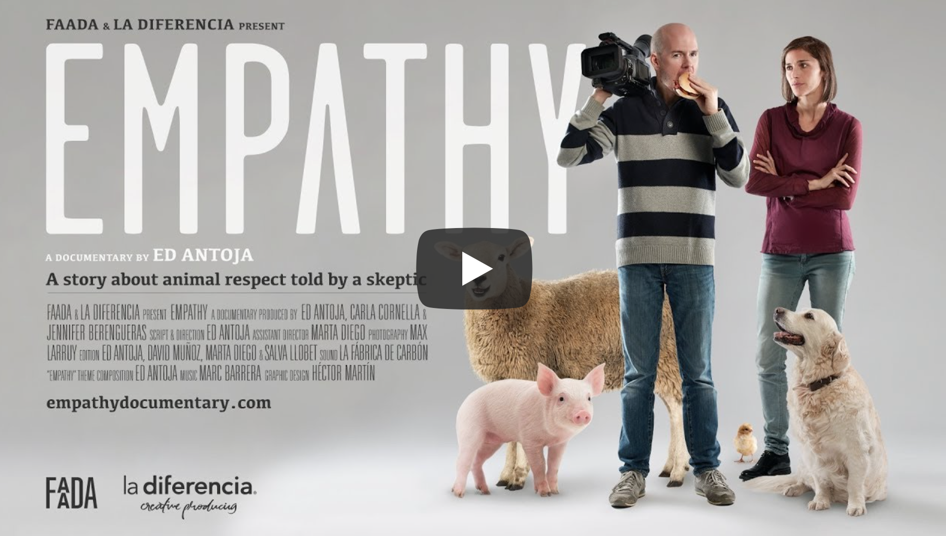 "Exclusive Interview: Director of New Vegan Documentary ""Empathy"" 