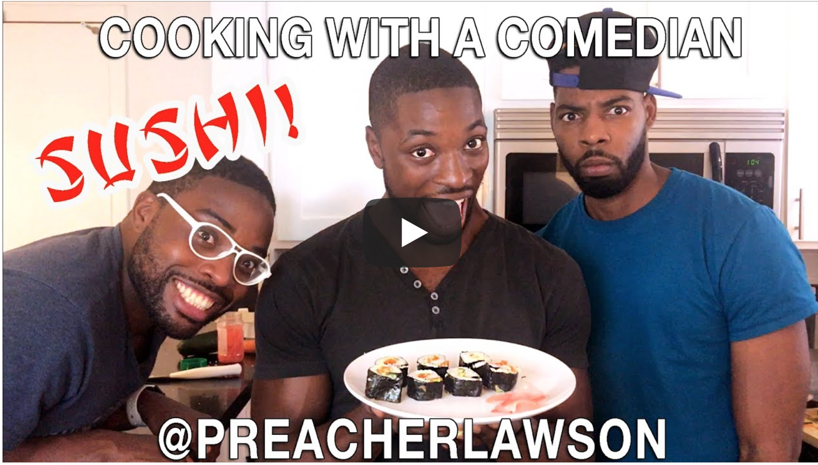 How To Make Sushi - Cooking With A Comedian | VeganFlix
