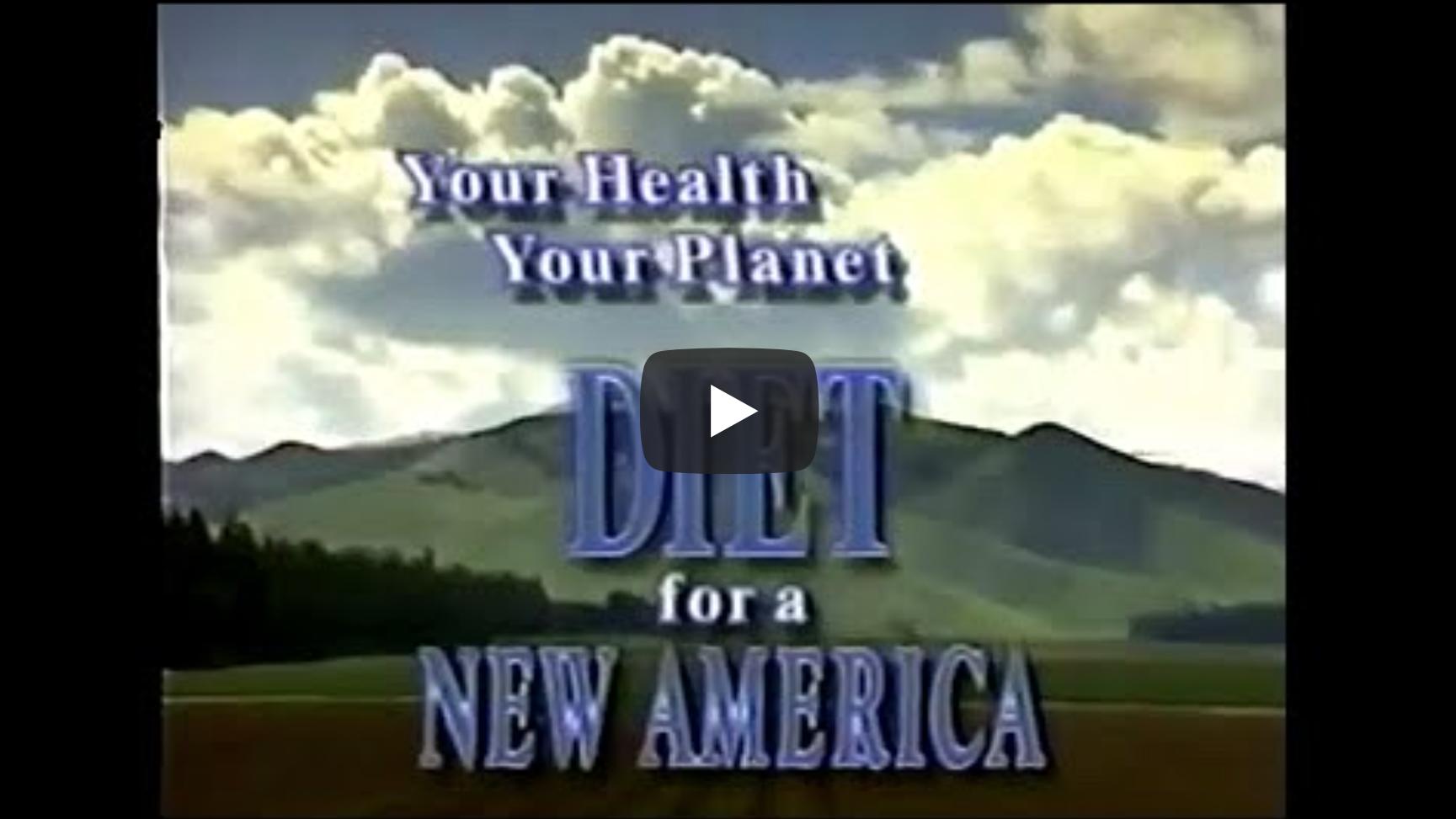 DIET FOR A NEW AMERICA ✰ John Robbins ✰ Full Documentary | VeganFlix
