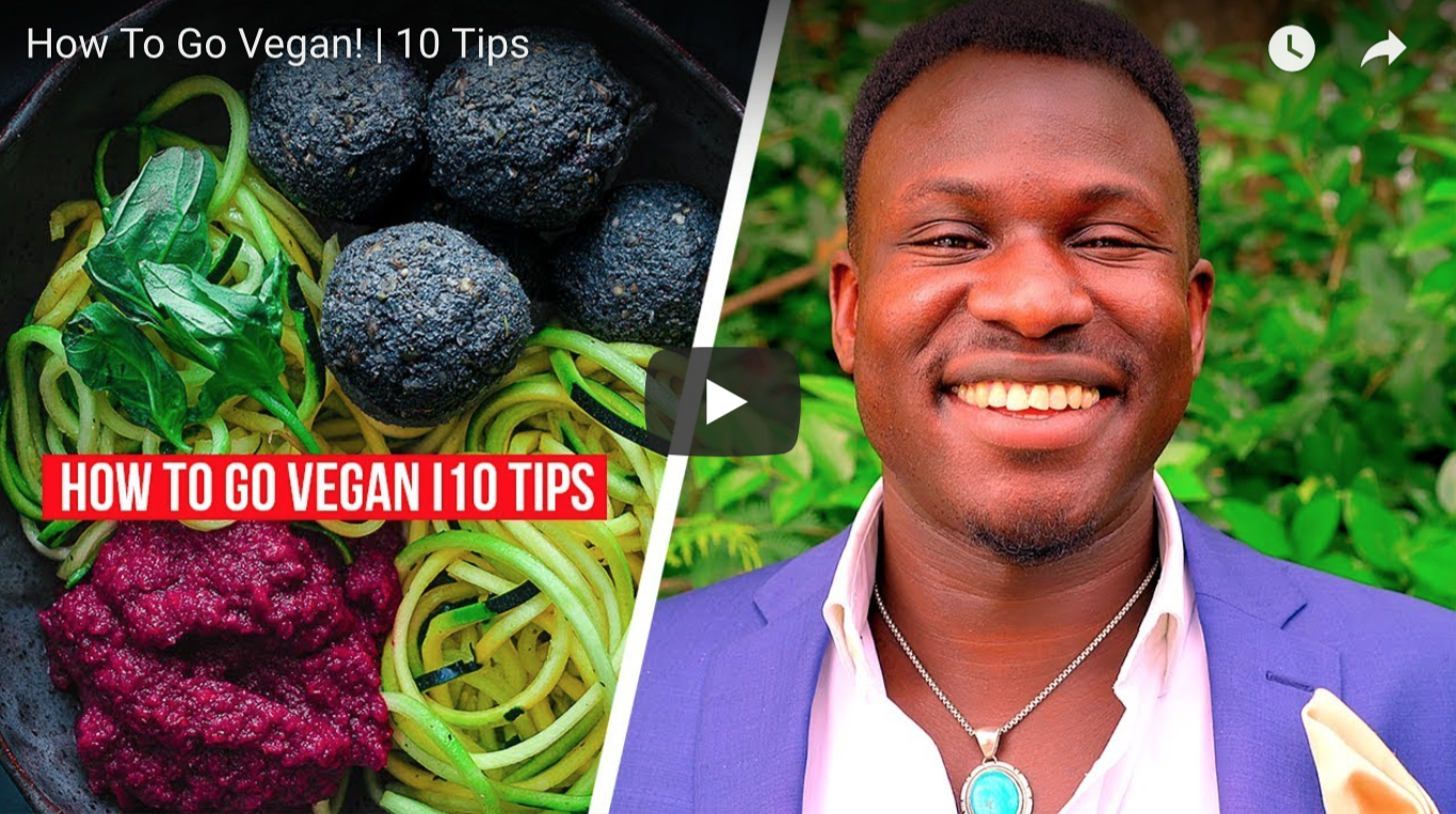 How To Go Vegan! | 10 Tips | VeganFlix