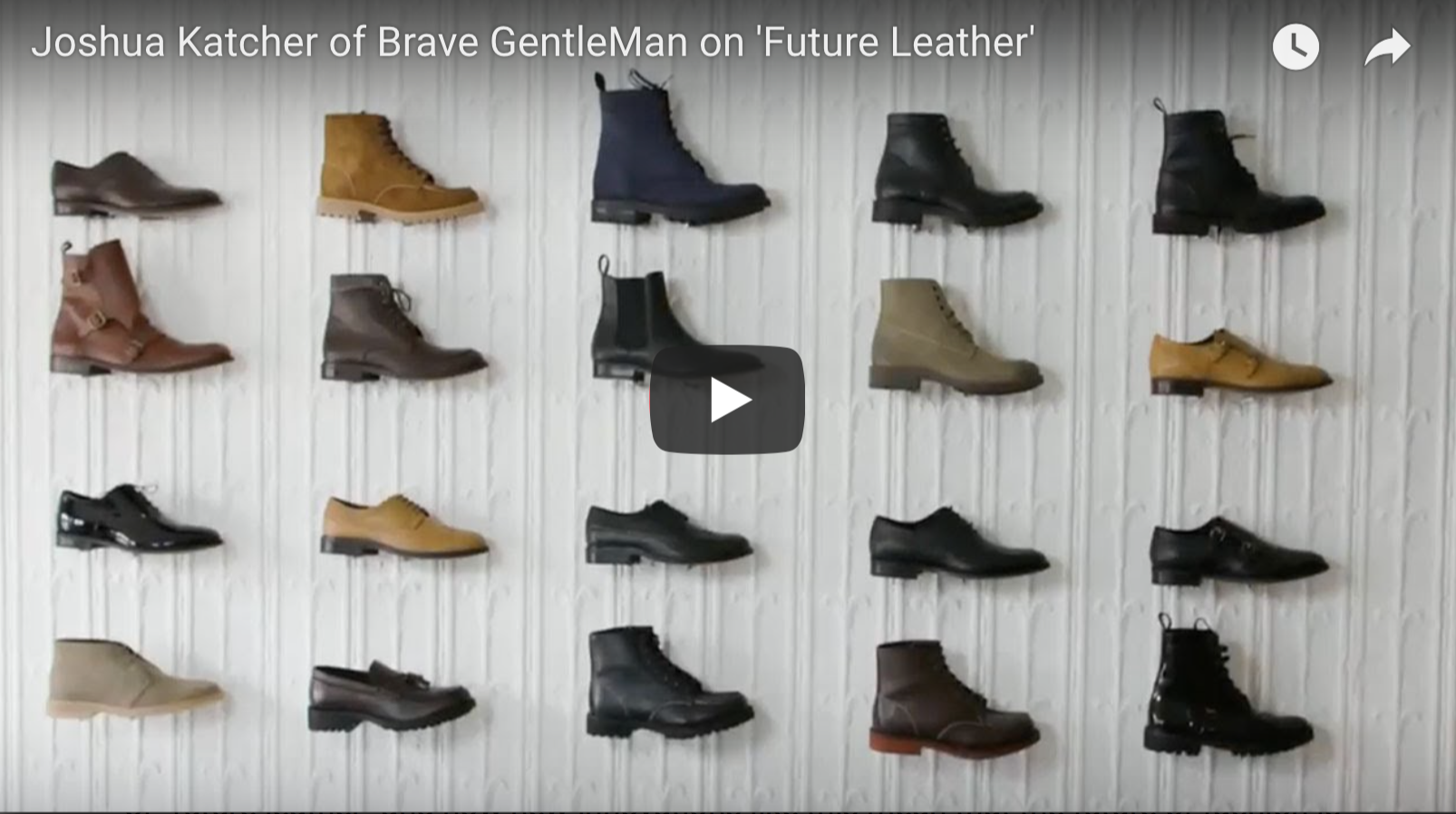 Joshua Katcher of Brave GentleMan on 'Future Leather | VeganFlix