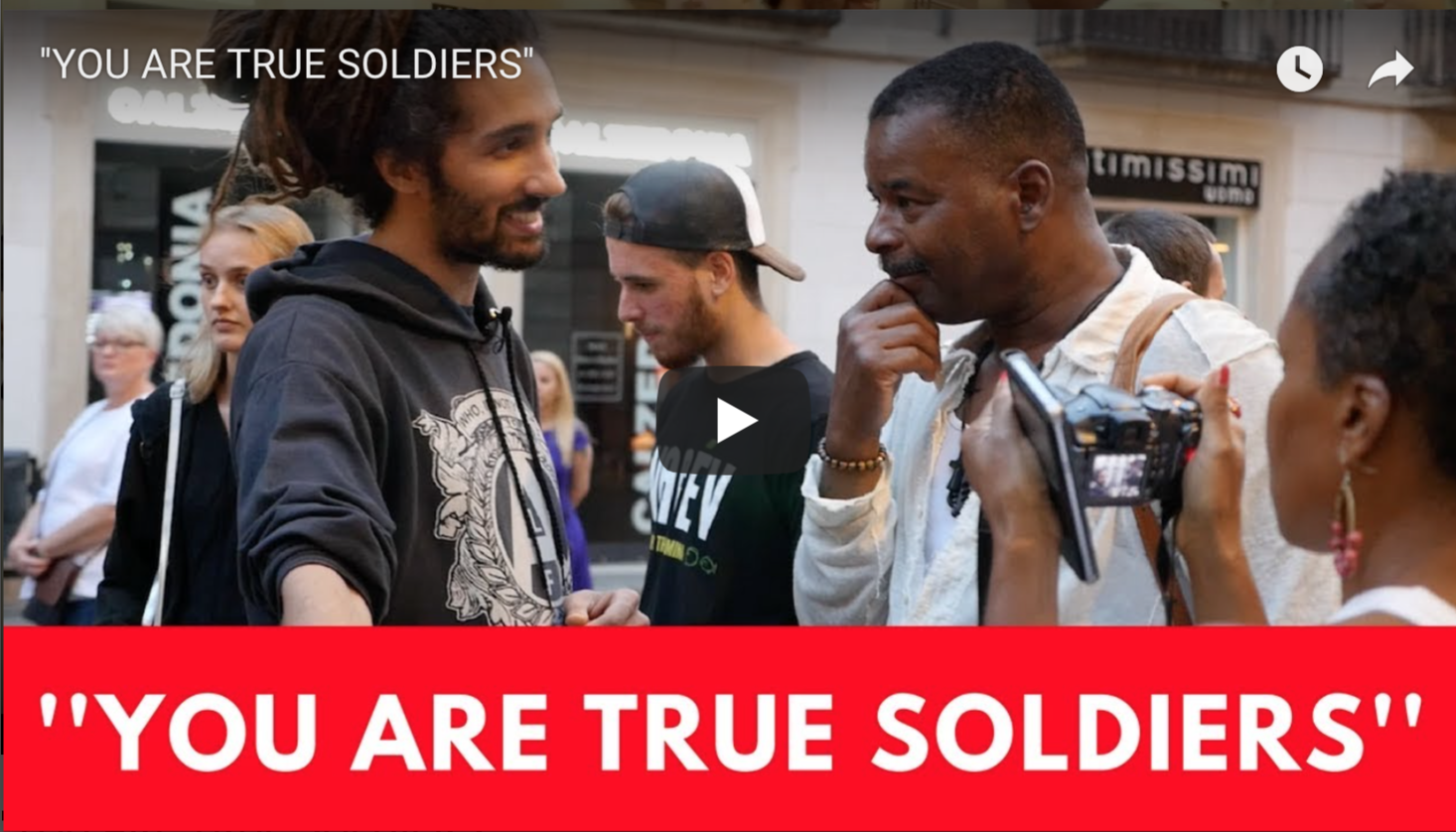 ''YOU ARE TRUE SOLDIERS'' | VeganFlix