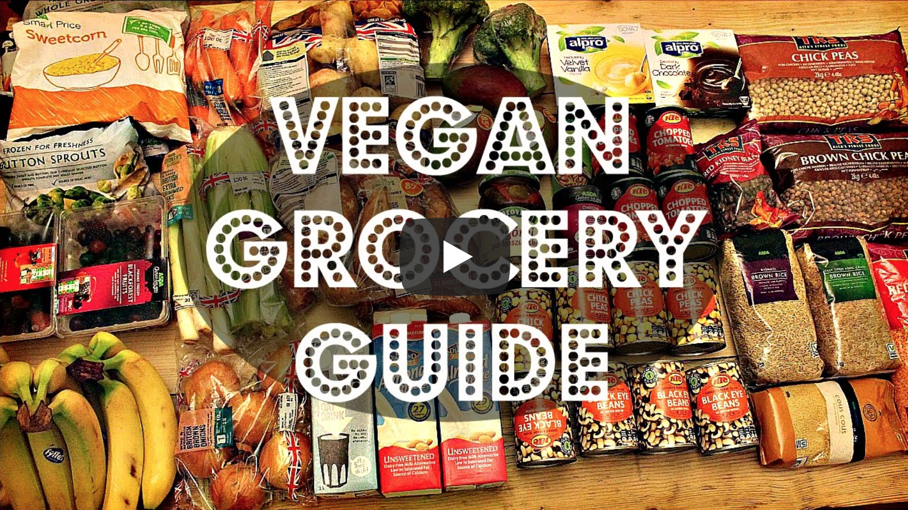 VEGAN GROCERY GUIDE | Cheap Lazy Vegan | VeganFlix