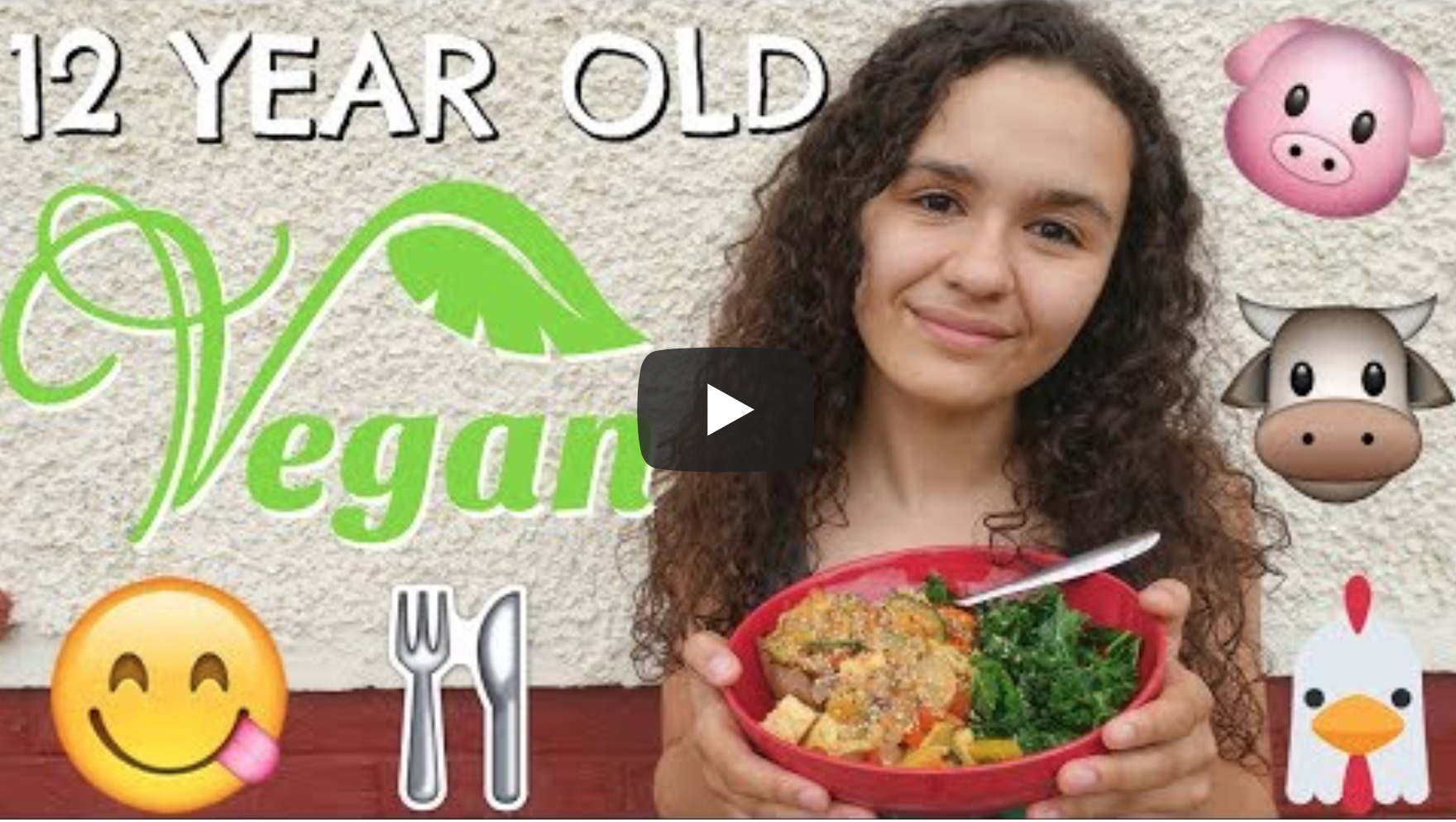 WHAT A 12 YEAR OLD VEGAN KID EATS IN A DAY!🌱 | VeganFlix
