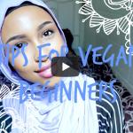 VEGAN BEGINNER TIPS!!! | VeganFlix