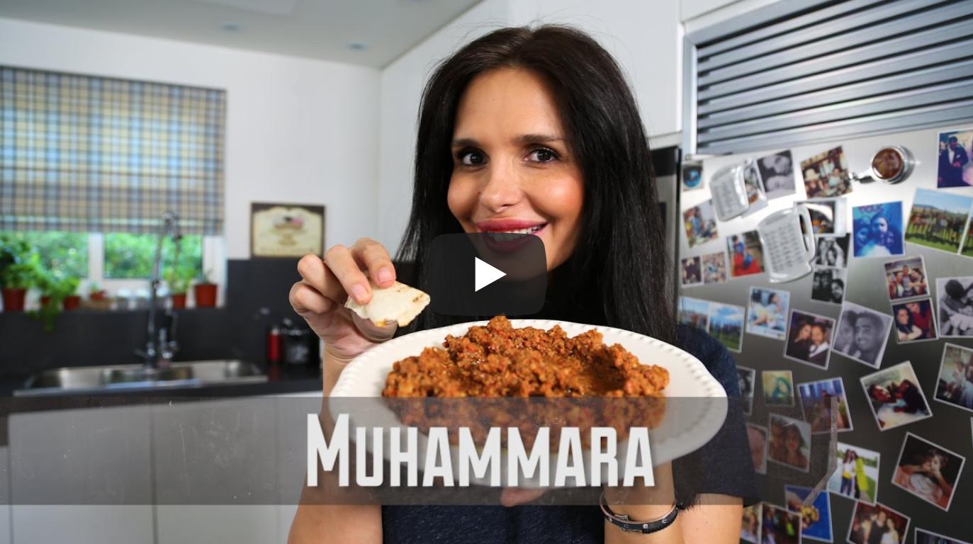 Muhammara Dip | Dalia's Kitchen | Vegetarian Vegan | VeganFlix