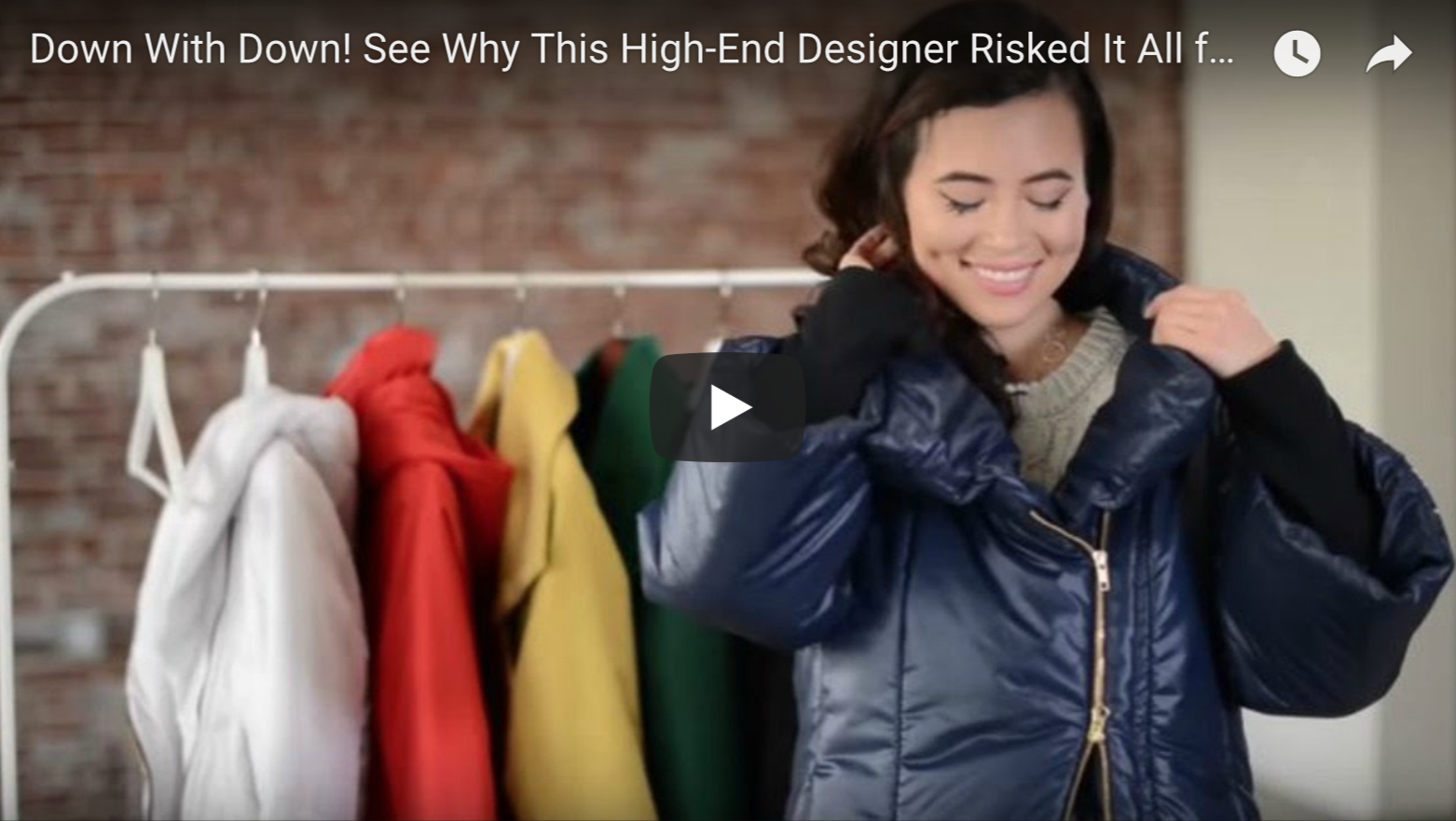 Down With Down! See Why This High-End Designer Risked It All for Vegan Coats | VeganFlix