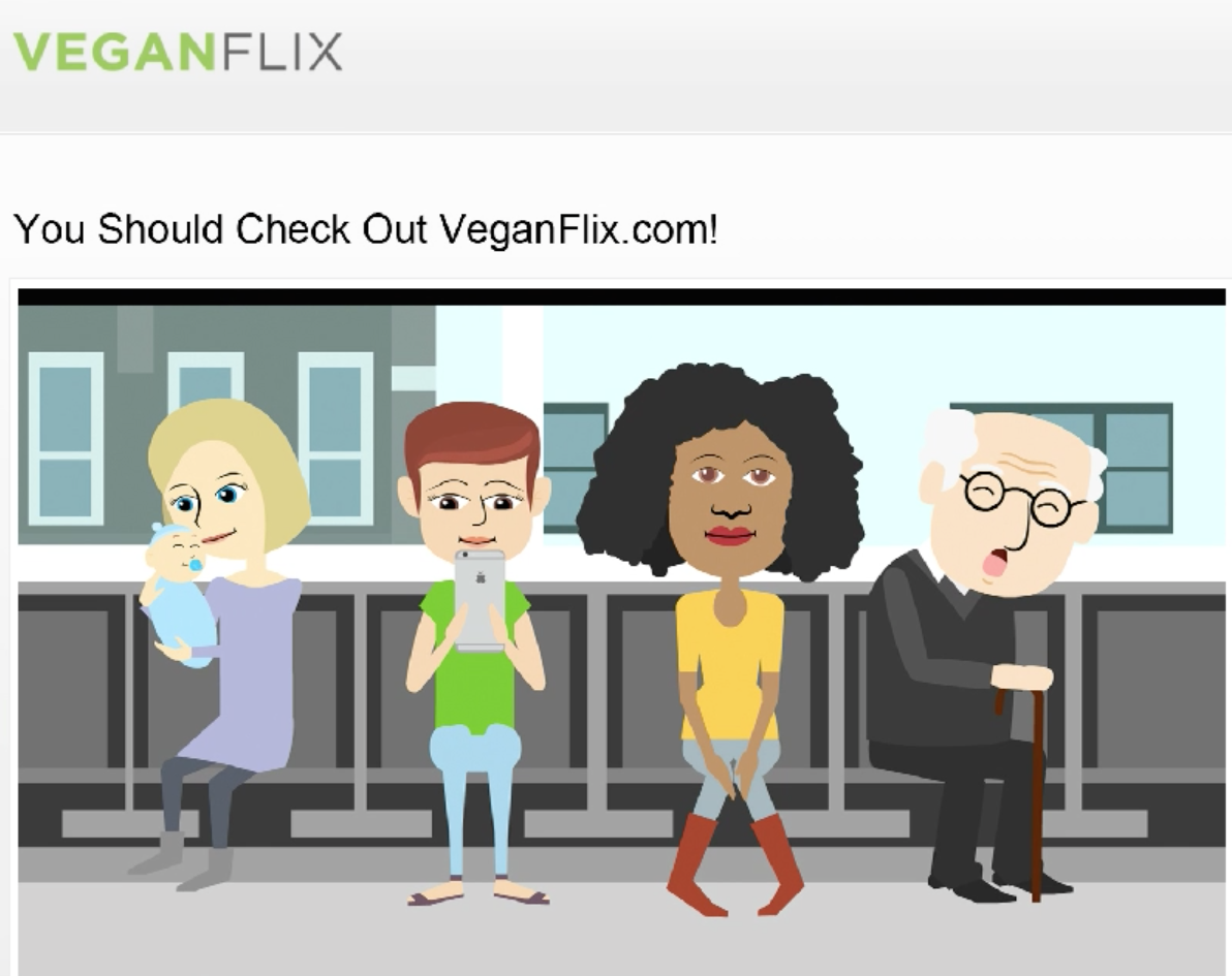 Check out VEGANFLIX.com!