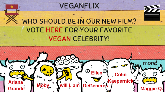 VeganFlix Vegan Celebrity
