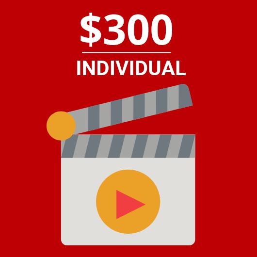 Individual $300