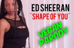 "Ed Sheeran ""Shape of You"" (Vegan Parody)"
