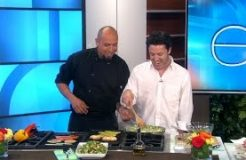 Exclusive! Chef Roberto Cooks with Andy