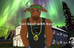 """No Beef"" (VEGAN RAP) by DISL Automatic ft. TK The Artist"