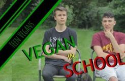 Being VEGAN In SCHOOL? | Teen Vegans