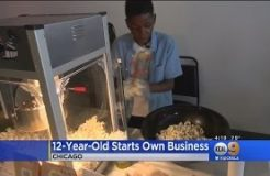 Chicago Boy, 12, Finds Success With His Own Gourmet Vegan Popcorn Business