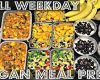 FULL WEEK VEGAN MEAL PREP (For Work or School) ♥ Cheap Lazy Vegan