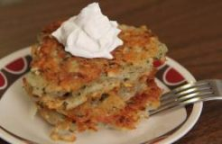 Vegan Potato Latkes Recipe - Vegan Hanukkah Jewish Holiday - לביבות תפוחי אדמה