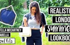 Realistic London Summer Lookbook - Vegan + Bloopers
