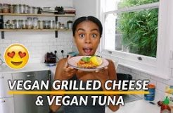 How to: VEGAN TUNA RECIPE | Vegan Grilled Cheese