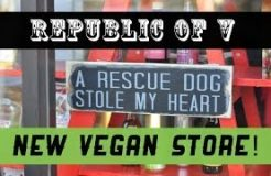 Republic of V ♥ New Vegan Store in Berkeley! | VeganFlix